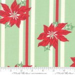 Sweet Christmas - Poinsettia on Lines
