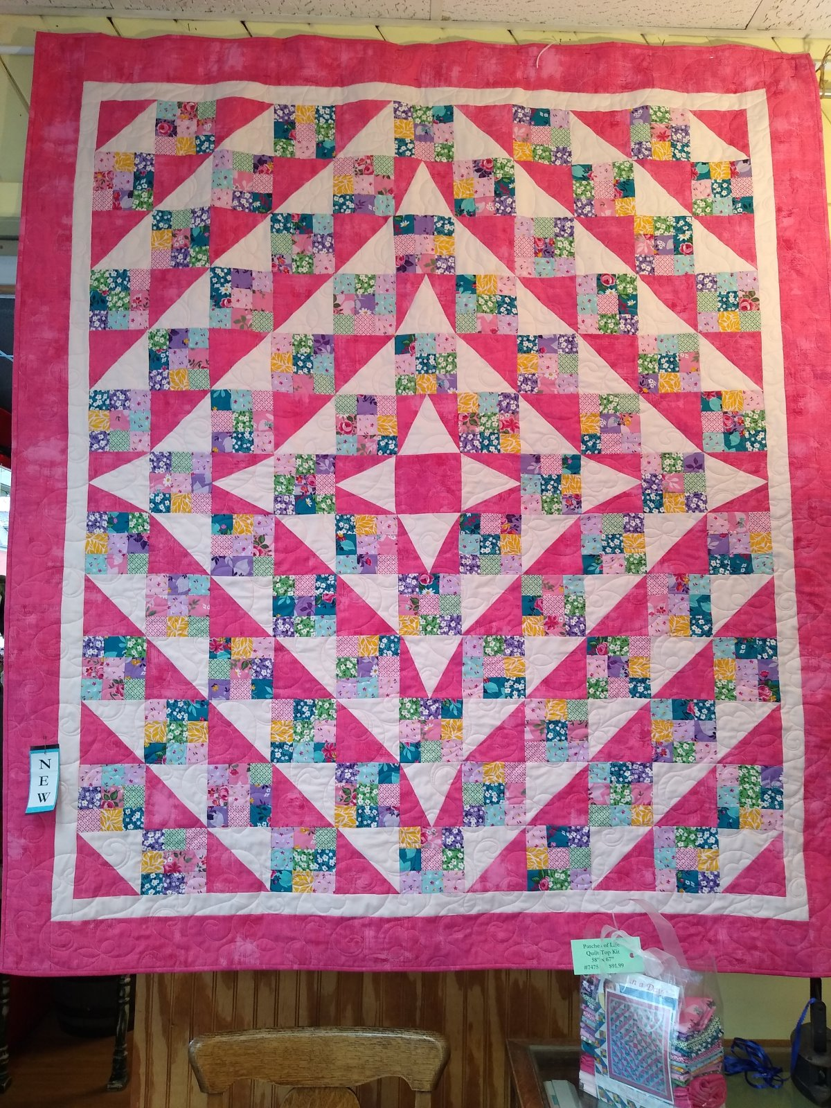 Patches of Life - Fleur Quilt Top