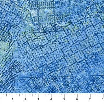 A Stitch in Time - Blue Ruler