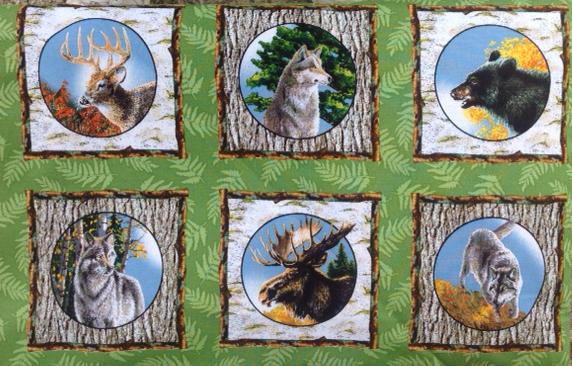 Nature's Glory Animal Squares