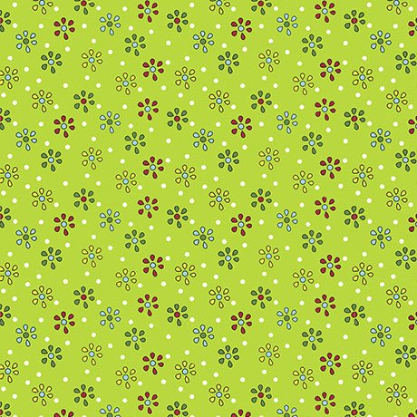 Patchwork Farms - Small Flower Lime