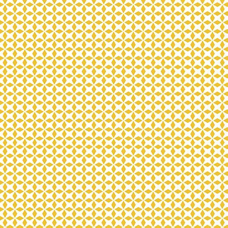 Patchwork Farms - Geo Grid - Sunflower