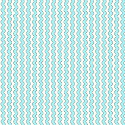 The Quilted Cottage - Ric Rac Stripe Turquoise