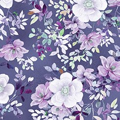 Jacqueline - Floral Grape