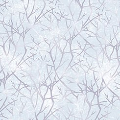 Jacqueline - Branches Pale Chambray