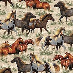 Round 'Em Up - Running Horses