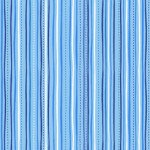 Sweet Caroline - Stitched Stripe Blue