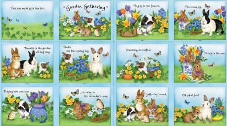 Multi Garden Gathering - Fabric Book
