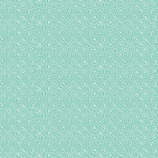 My Little Sunshine -  ABC Turquoise