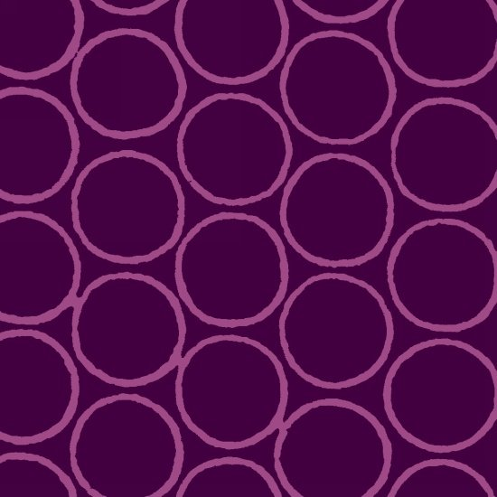 Modern Batiks Circles - Purple