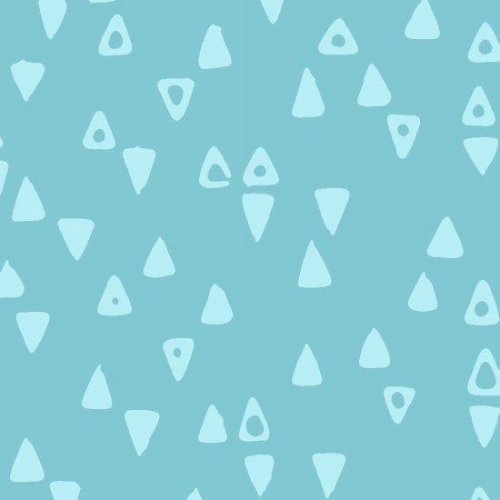 Modern Batiks Triangle - Pale Blue