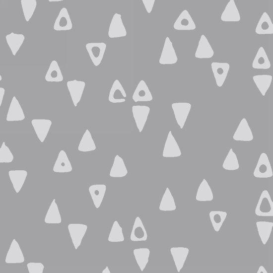 Modern Batiks Triangle - Gray