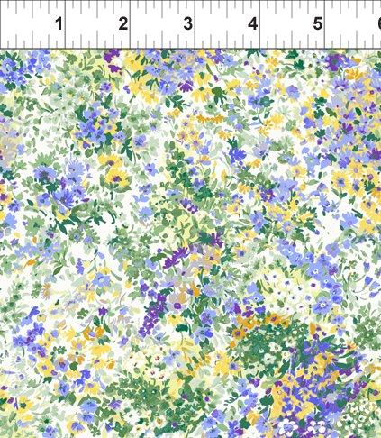 Garden Delights Impressionist - Periwinkle