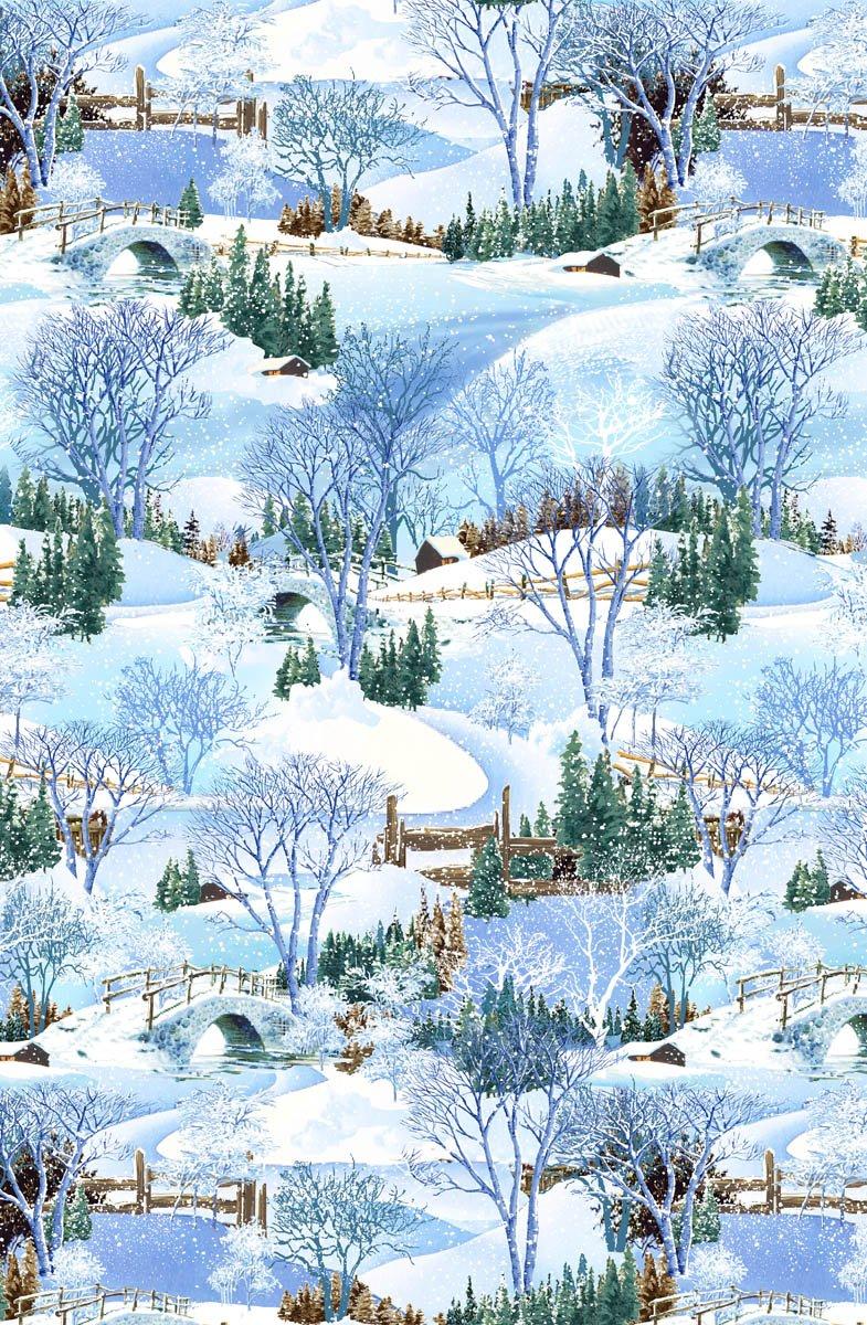 Snowy Christmas - Landscape