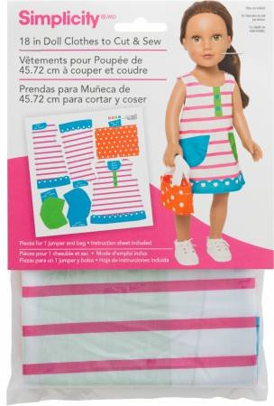 18 in Doll Clothes - Striped Jumper