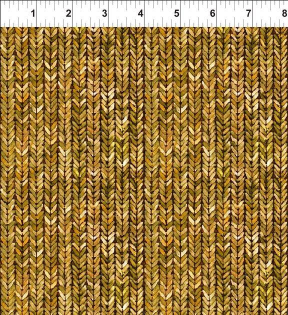 Our Autumn Friends - Gold Weave