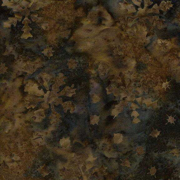 Island Batik - Snowflakes - Cappuccino
