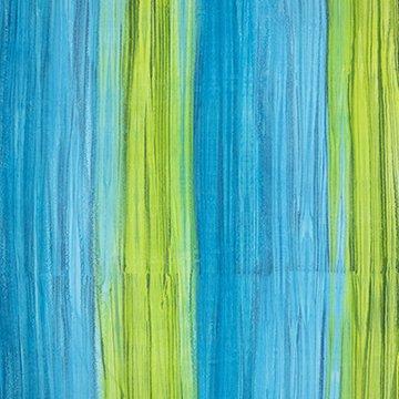 Color Me Banyan - Turquoise Lime Strata