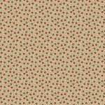 Circa Prairie - Red and Green Small Flower Natural Reproduction Print