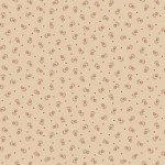 Circa Prairie - Tan Reproduction Print with Pink