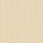 Circa Prairie - Small Blue Flower Cream Reproduction Print