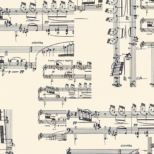 The Music in Me - Sheet Music Cream