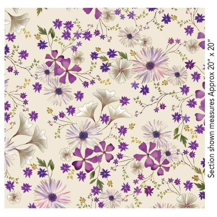 Enchanted Garden Floral - Cream