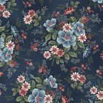 Flowers of Provence - Master Floral Dark Blue