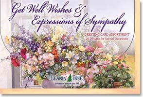 Get Well Wishes & Expressions of Sympathy Card Assortment