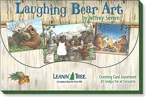 Laughing Bear Art Card Assortment