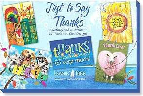 Just to Say Thanks Card Assortment