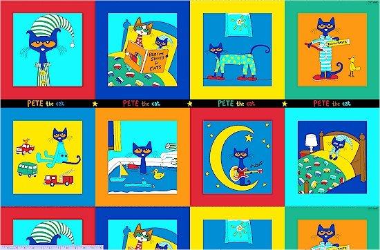 Pete The Cat Lg Squares