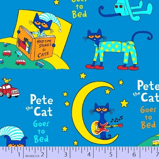 Pete The Cat - Goes To Bed - Flannel