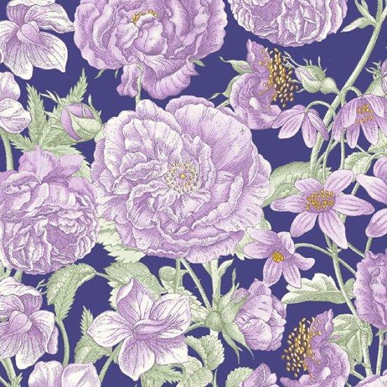Butterfly Botanical Purple