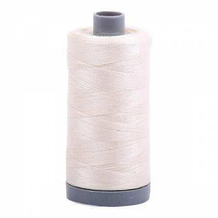 Aurifil 28/2 Cotton Solid 820yds - #2026 Chalk