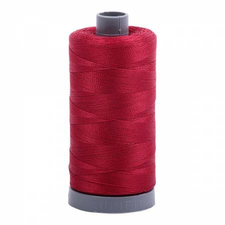 Aurifil 28/2 Cotton Solid 820yds - #2260 Red Wine