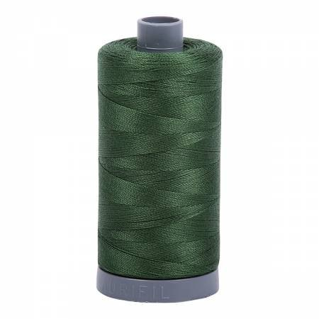 Aurifil 28/2 Cotton Solid 820yds - #2892 Pine Green