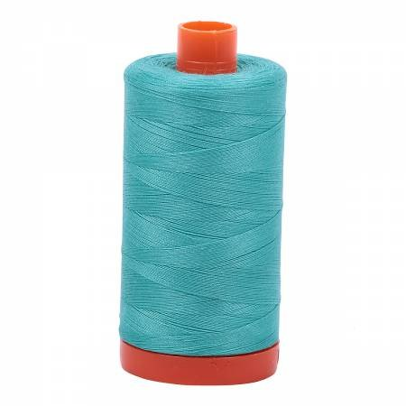 Aurifil 50/2 Cotton Solid 1422yds - #1148 Light Jade