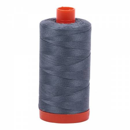 Aurifil 50/2 Cotton Solid 1422yds - #1246 Dark Grey
