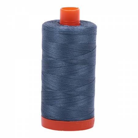 Aurifil 50/2 Cotton Solid 1422yds - #1310 Medium Blue Grey