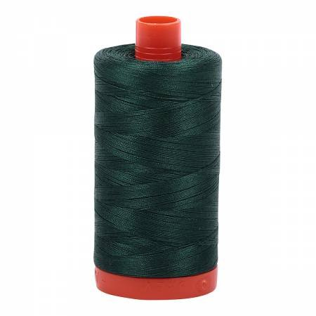 Aurifil 50/2 Cotton Solid 1422yds - #2885 Medium Spruce