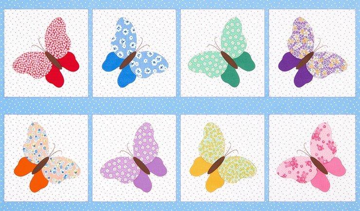 Aunt Ella's Butterflies - Vintage Butterfly Blocks