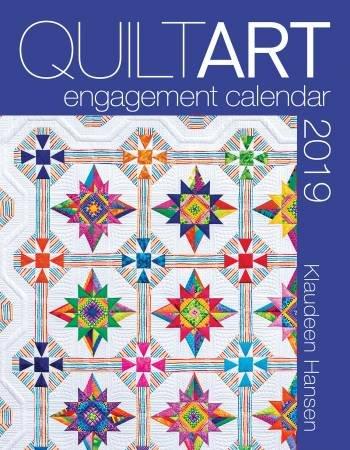 QuiltArt Engagement Calendar 2019