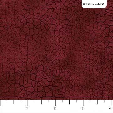 Crackle - Burgandy 108 Wide