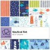 Nautical Fish - 5 Square Bundle