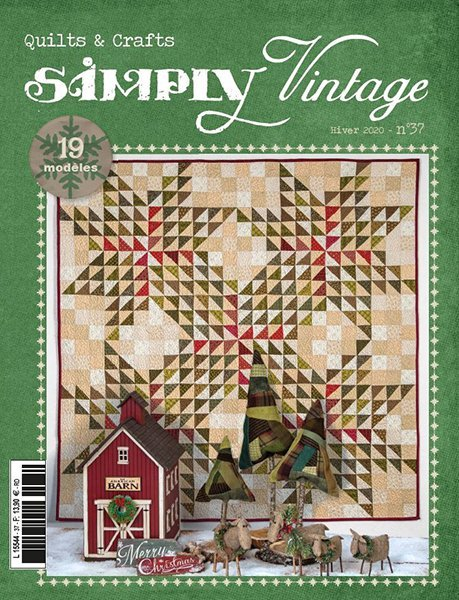 Simply Vintage Quilts & Crafts #37