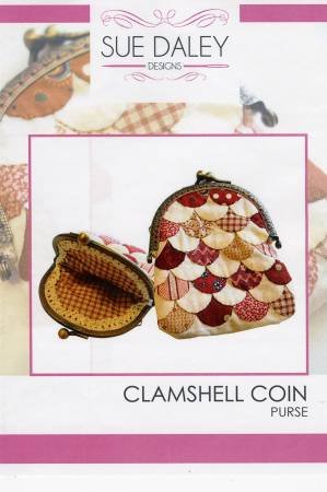 Clamshell Coin Purse