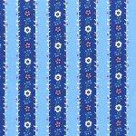 Flower Garland Blue