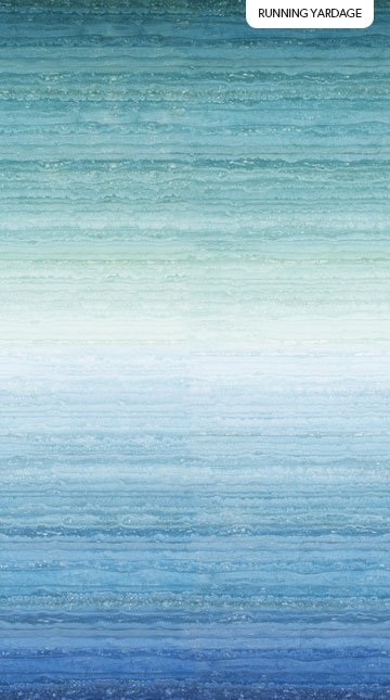 Swept Away - Blue Ombre