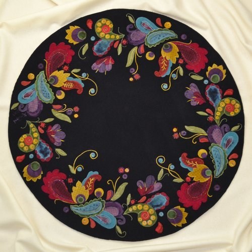 Arabesque Wool Table Mat Kit